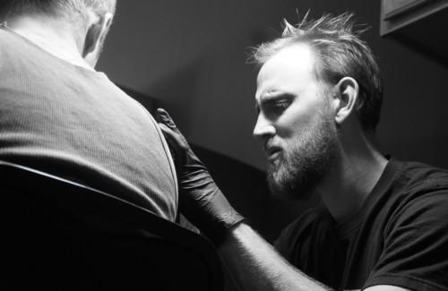Brendan - Greywash Ink - Tattoo Artist